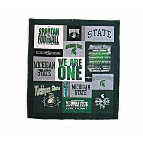 Michigan State Tailgate Quilt