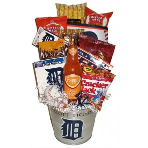 Tigers Party Pail w/ Faygo