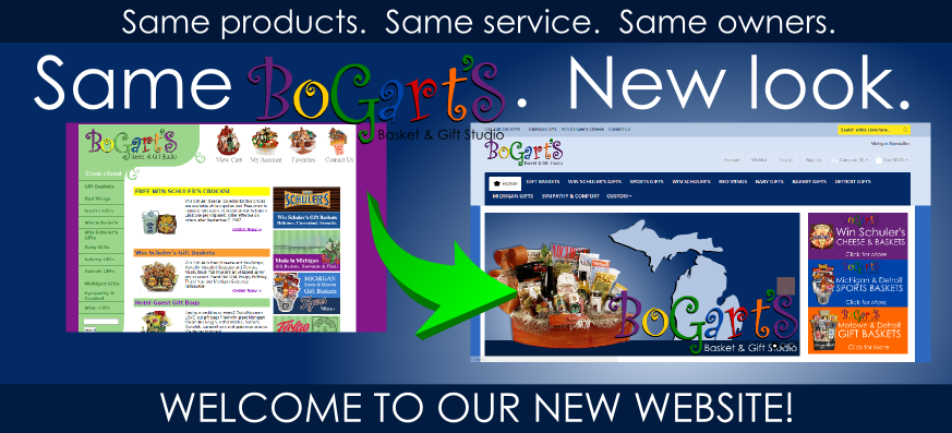 Bogarts Gifts New Website