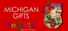 Michigan Gifts from Bogart's Baskets and Gifts
