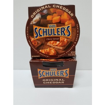 Win Schuler's Bar-Scheeze, 14 oz. Full Case