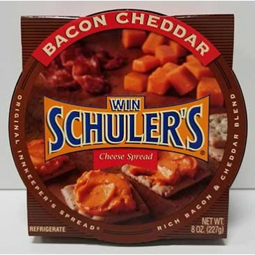 Win Schuler's Bar-Scheeze, Half Case Bacon Cheddar