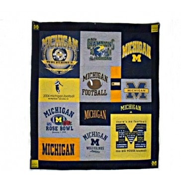 University of Michigan Tailgate Quilt