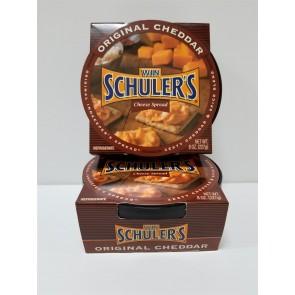 Win Schuler's Bar-Scheeze, Half Case Original Cheddar