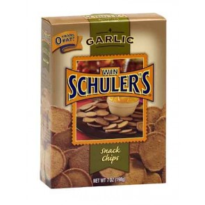 Win Schuler's Bar-Schips, Half Case Garlic