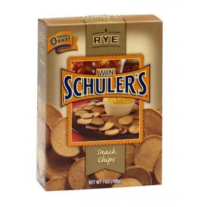 Win Schuler's Bar-Schips, Half Case Rye